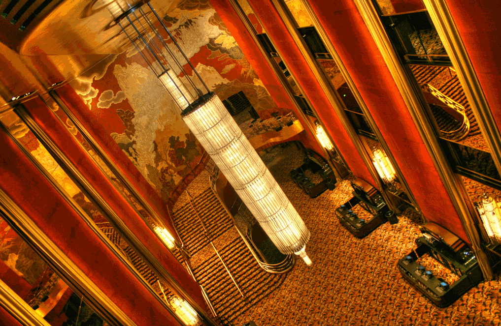Radio City Music Hall Art Deco Lobby - Photographer:   Sandmania