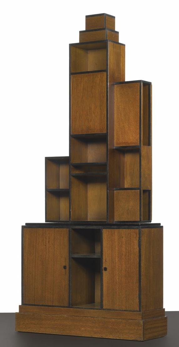 Art Deco Skycraper Bookcase