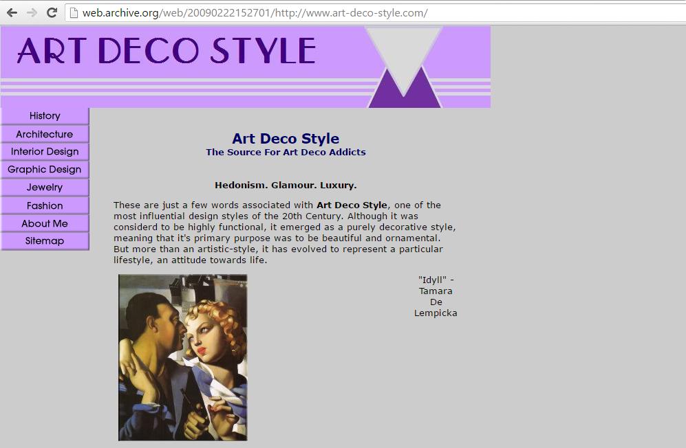 Art-Deco-Style.com February 2009