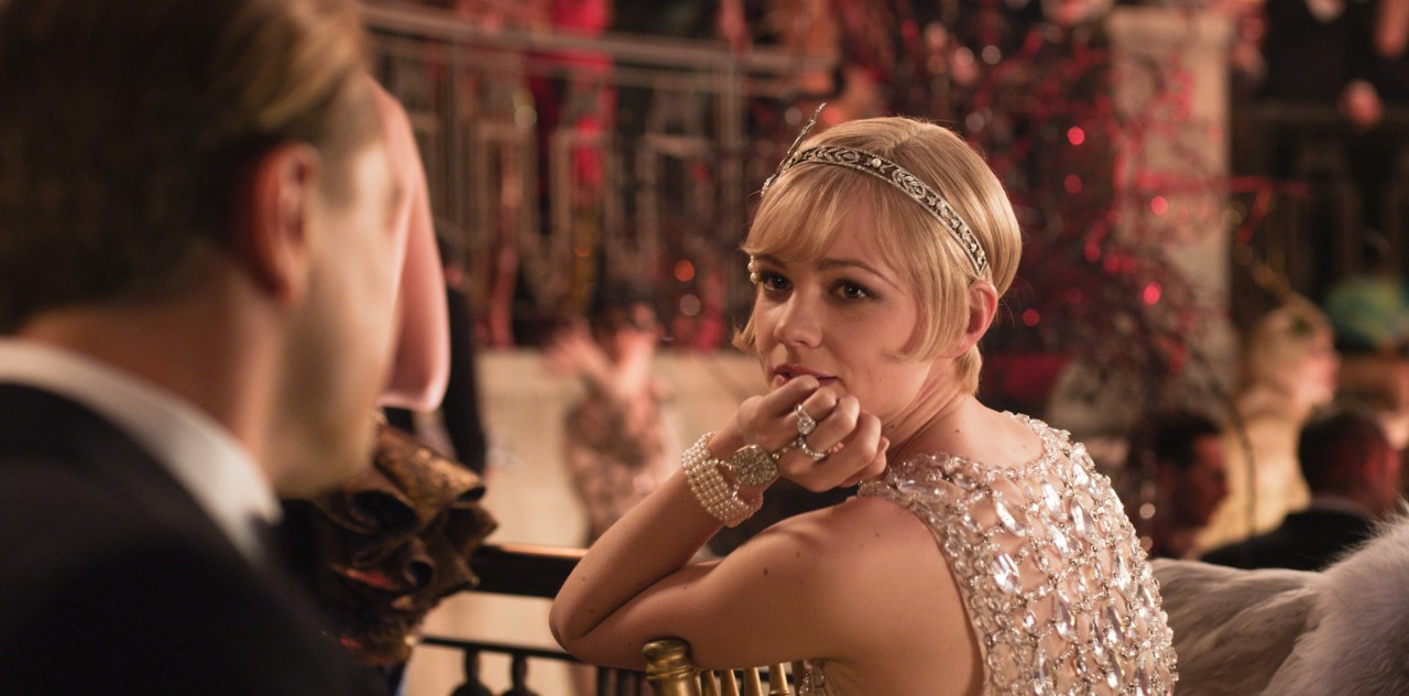 Daisy in The Great Gatsby movie