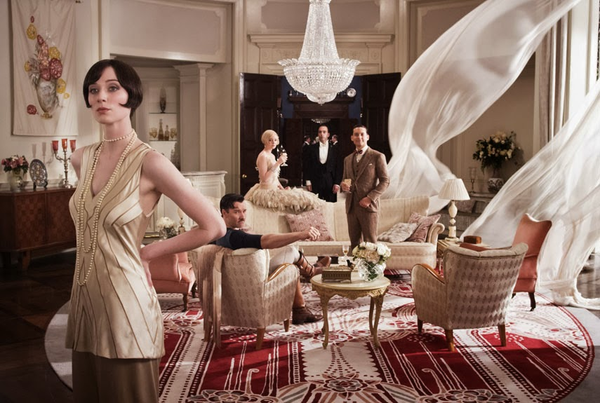Art Deco Elegant Interior - The Great Gatsby movie