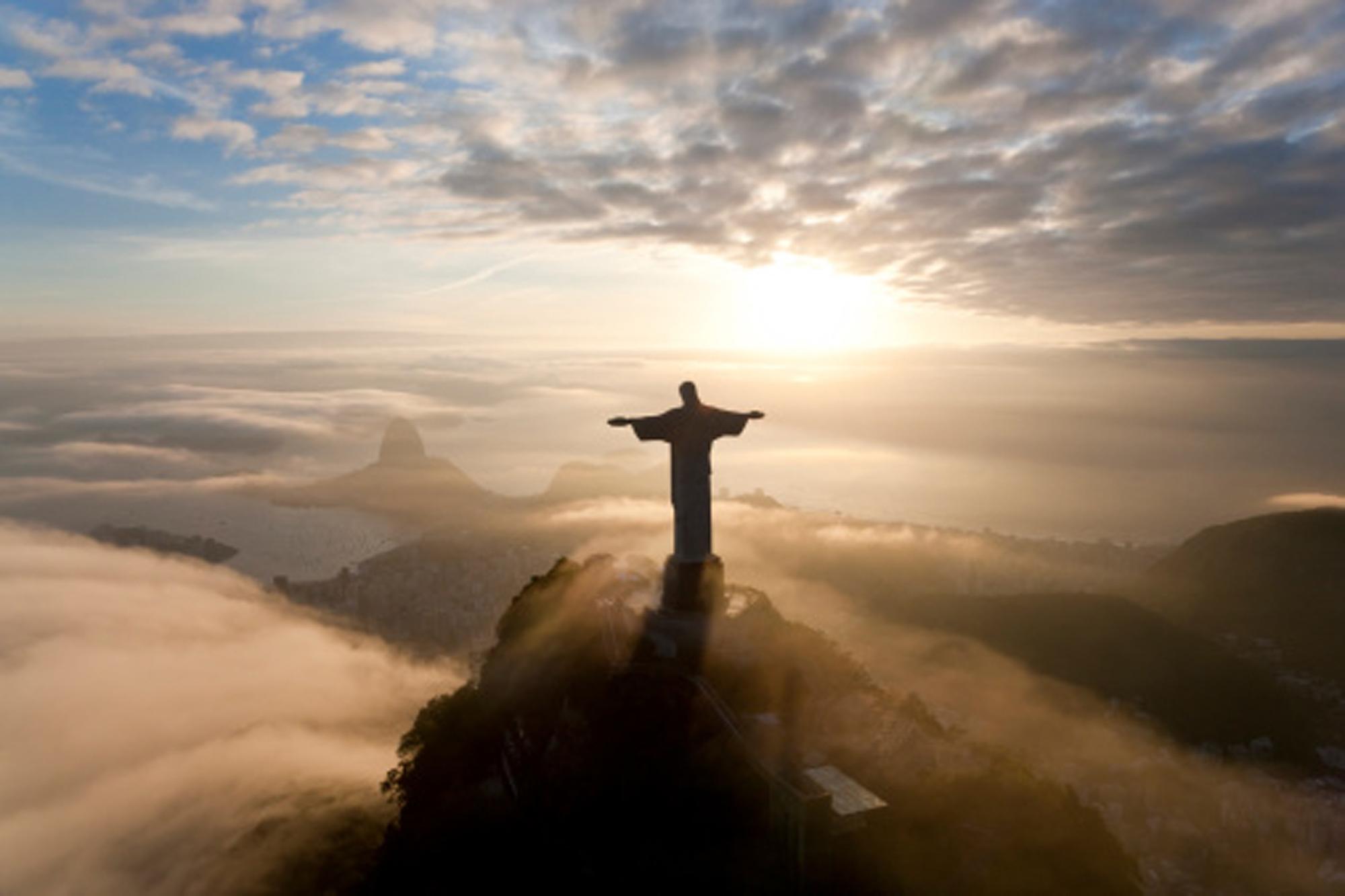 Art Deco Statue - Christ the Redeemer - Rio, Brazil