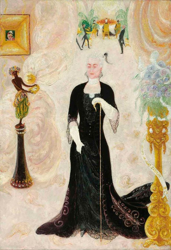 Portrait Of My Aunt, Caroline Walter Neustadter, 1928