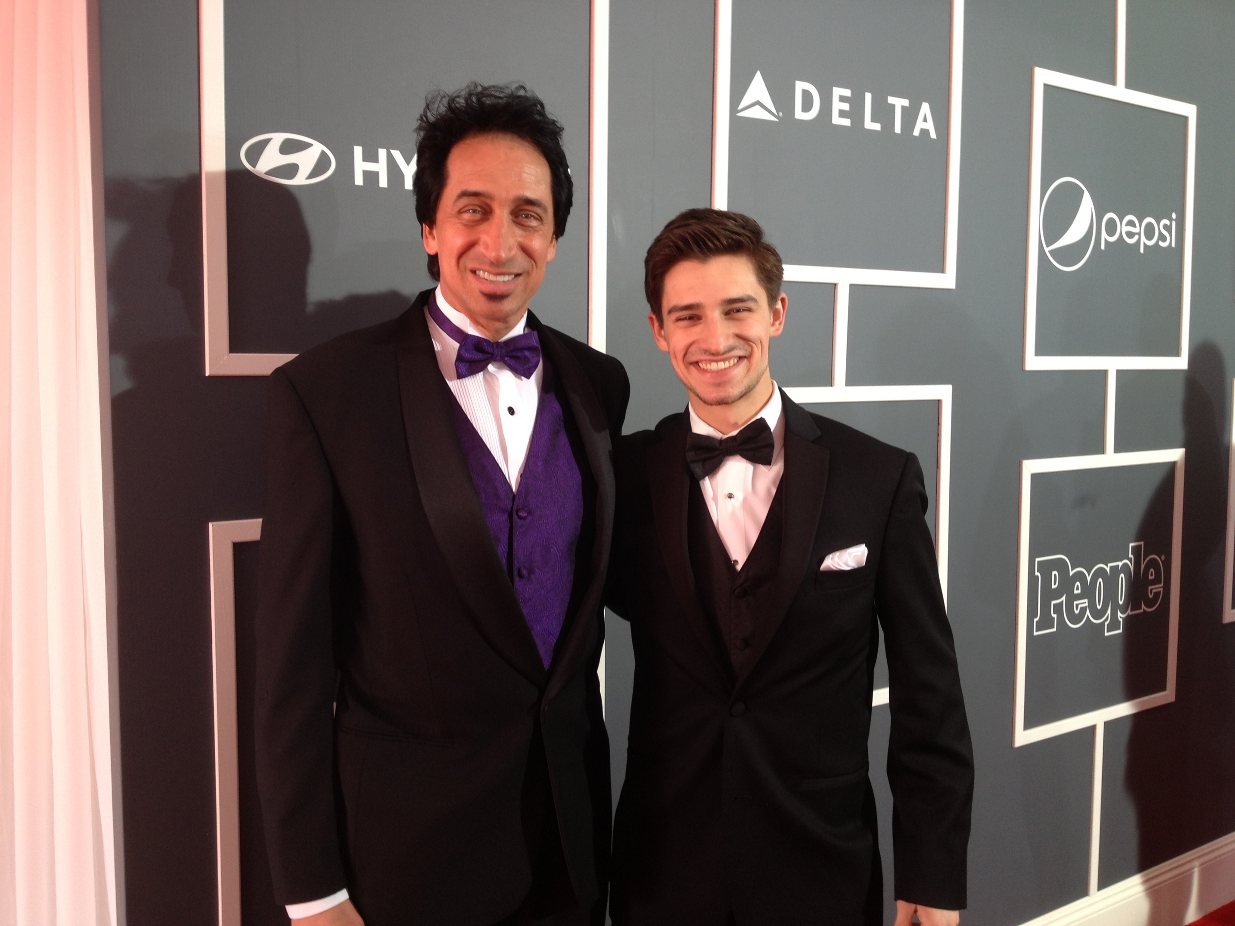Ron and Matt on The Red Carpet.JPG