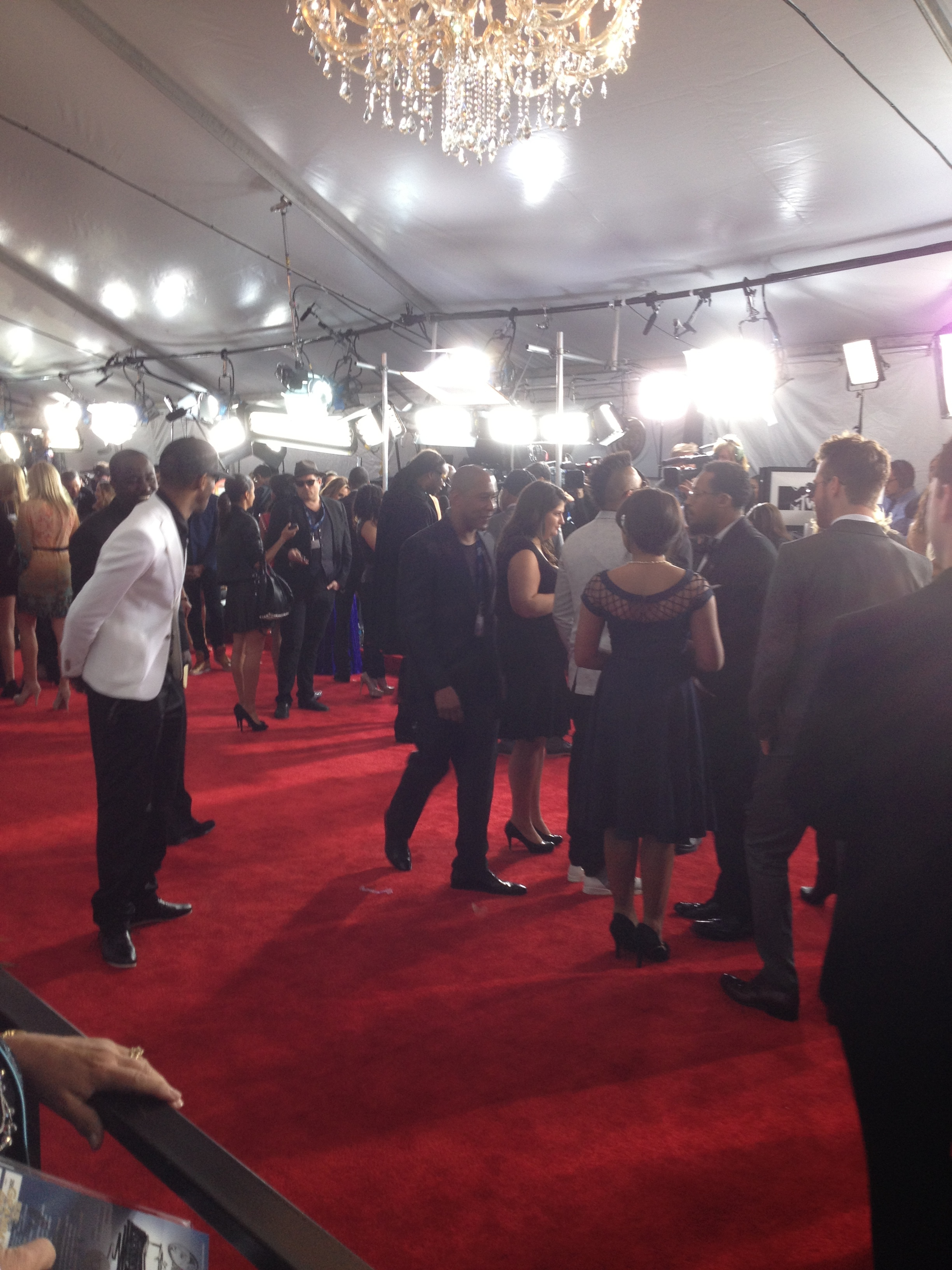 Walking & Talking Along The Red Carpet.JPG