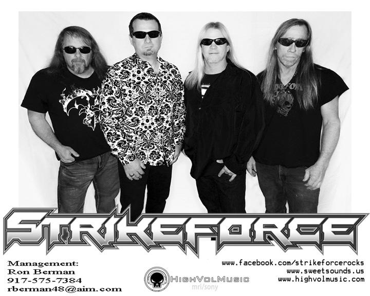 STRIKEFORCE - HighVol Records Artist