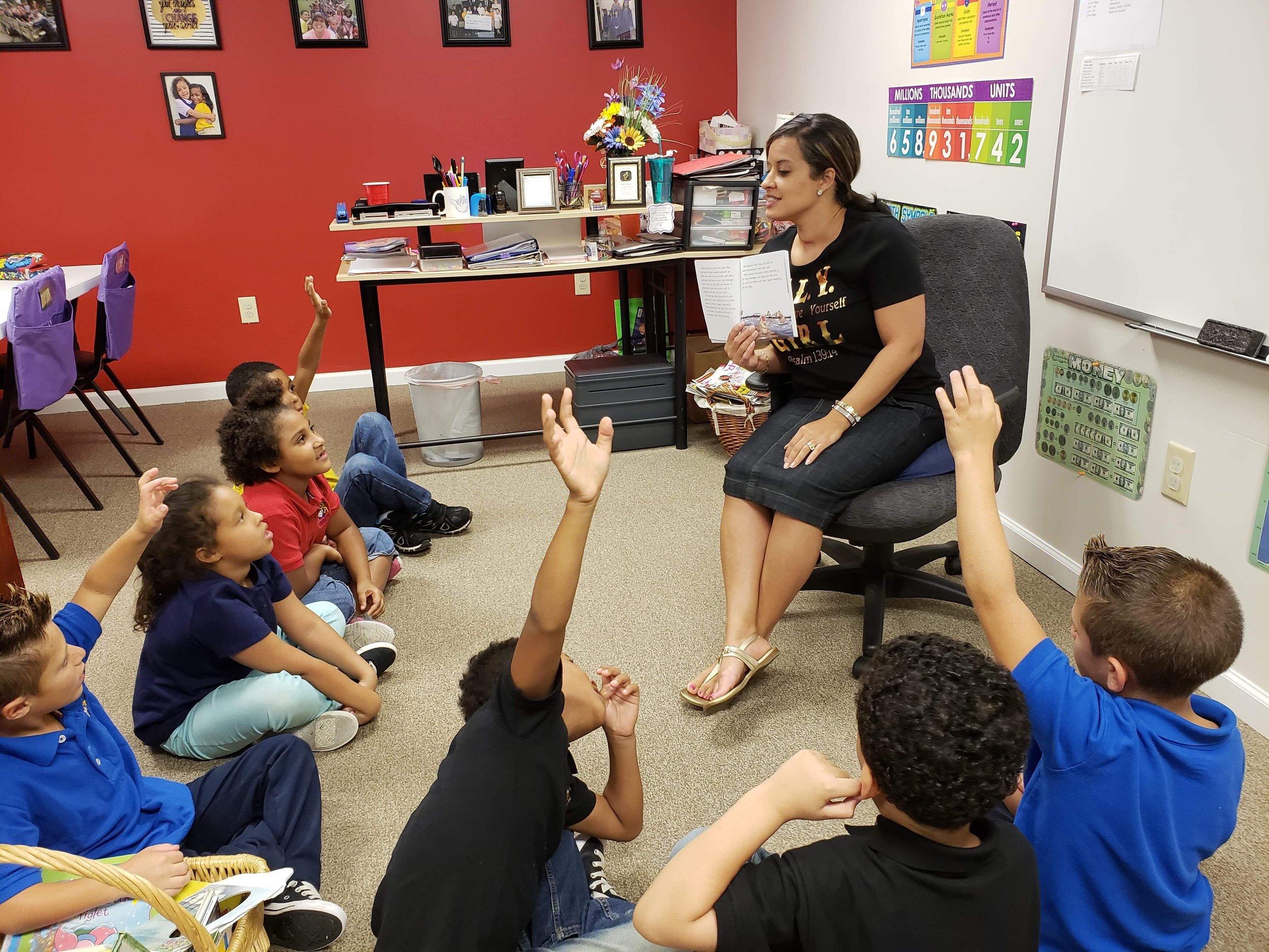 Charnika in the Classroom.JPG