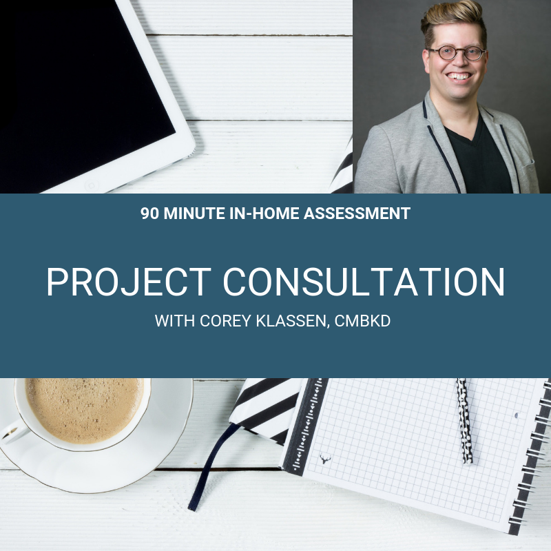 $500 + tax - This essential 2nd step a 1-on-1 in-home consultation and a detailed proposal. Fees are credited toward your first payment.