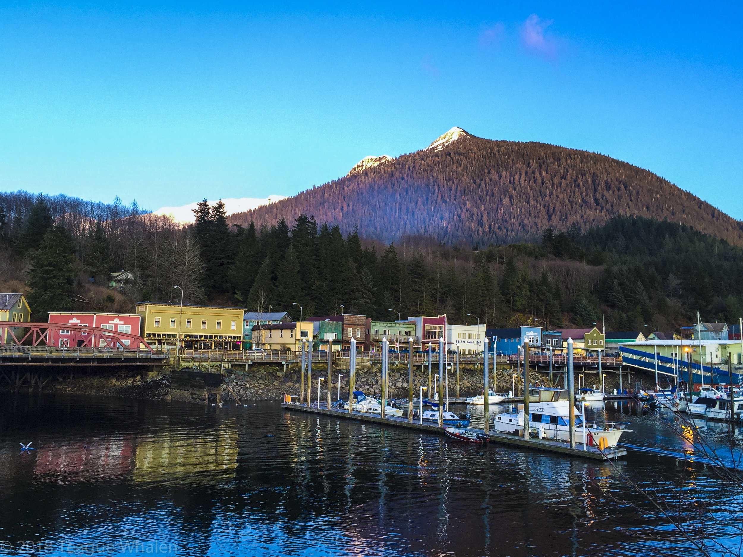 Ketchikan, Alaska's Thomas Basin and Deer Mountain