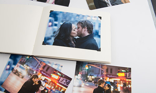 We print family photos and albums