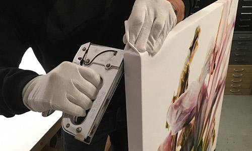 Stretching Digital Prints on Canvas