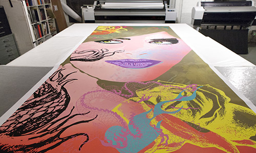 Large Format Epson archival digital print