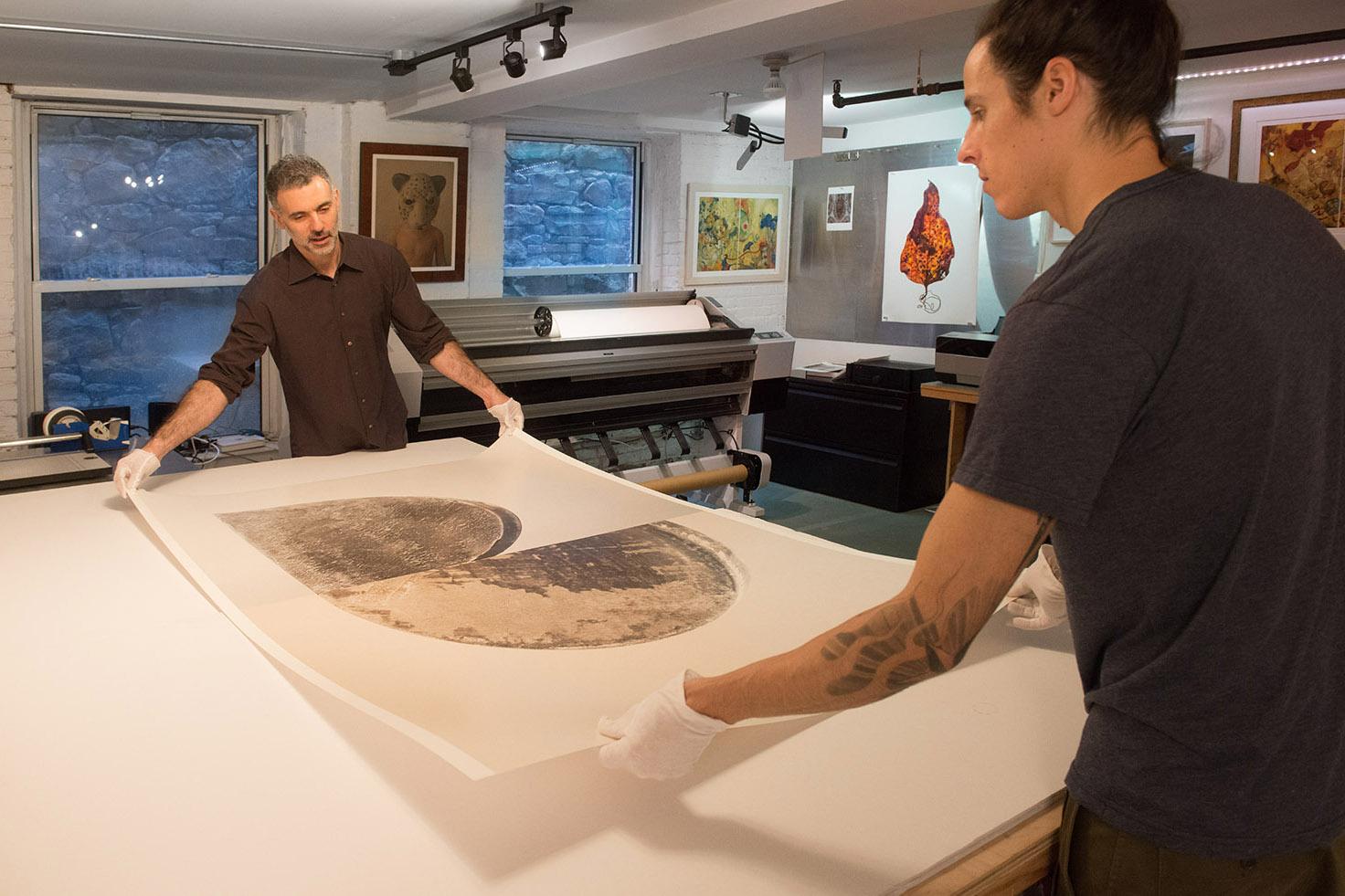 Brooklyn Editions printing large digital prints