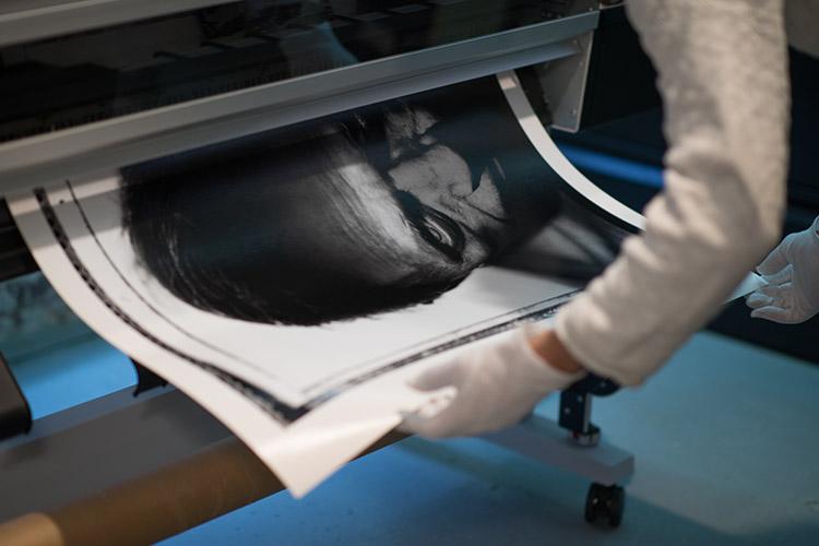 Baryta fine art black and white print