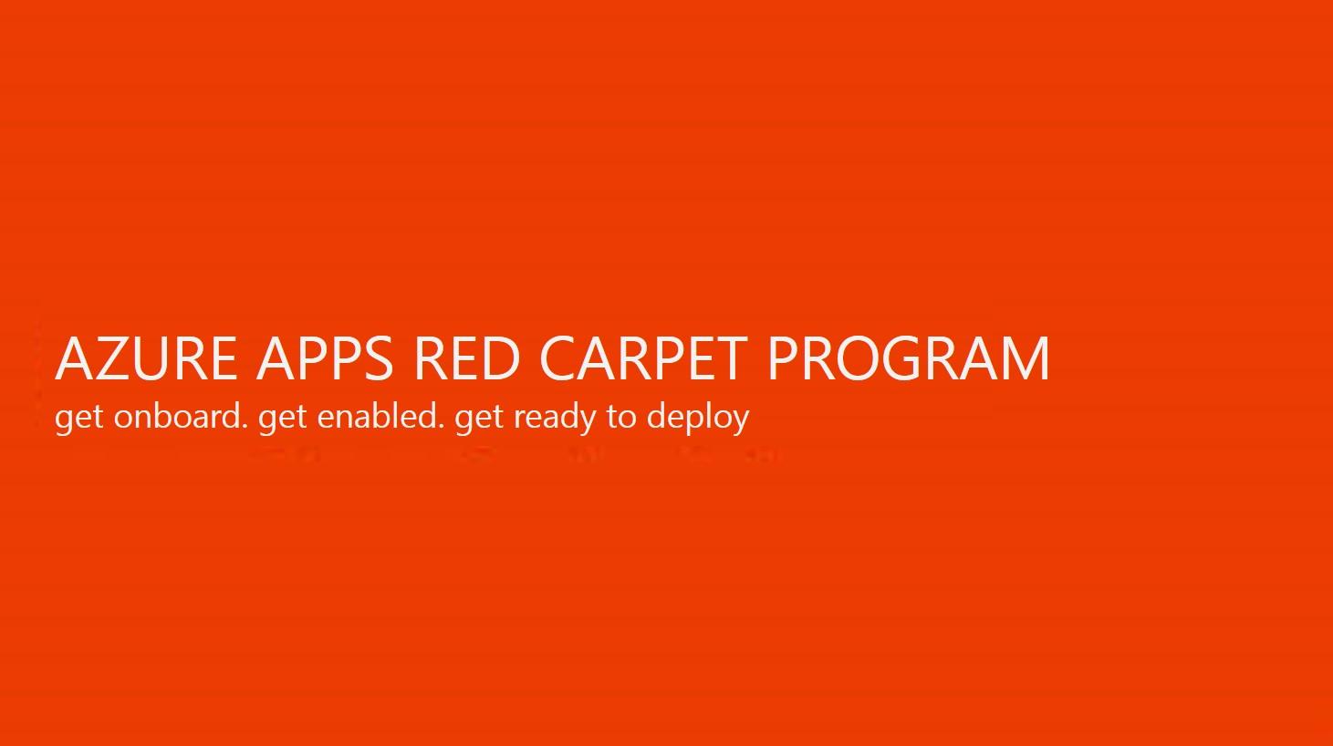 microsoft red carpet