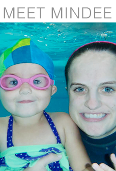 """""""This is my 9th year of teaching swimming. I have gained a new perspective and understanding since I became a mother in 2015. I'm so excited to use my new parenting skills and past experience to better teach your little ones. I graduated in the Human Development program at BYU and have developed a passion for working with children. It's the greatest job ever!"""""""