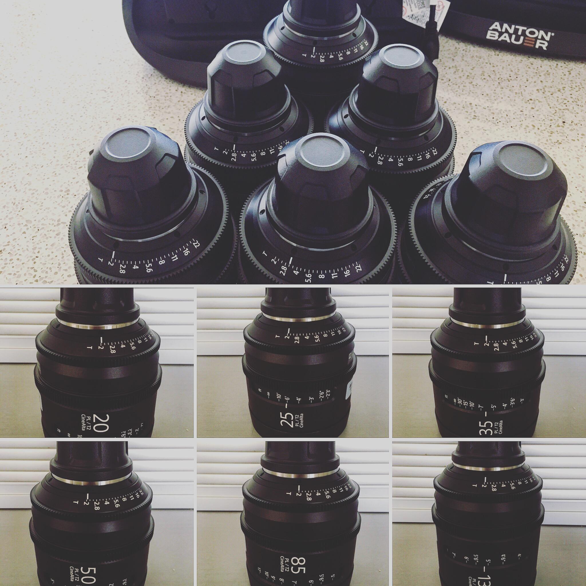 Sony Prime Lenses