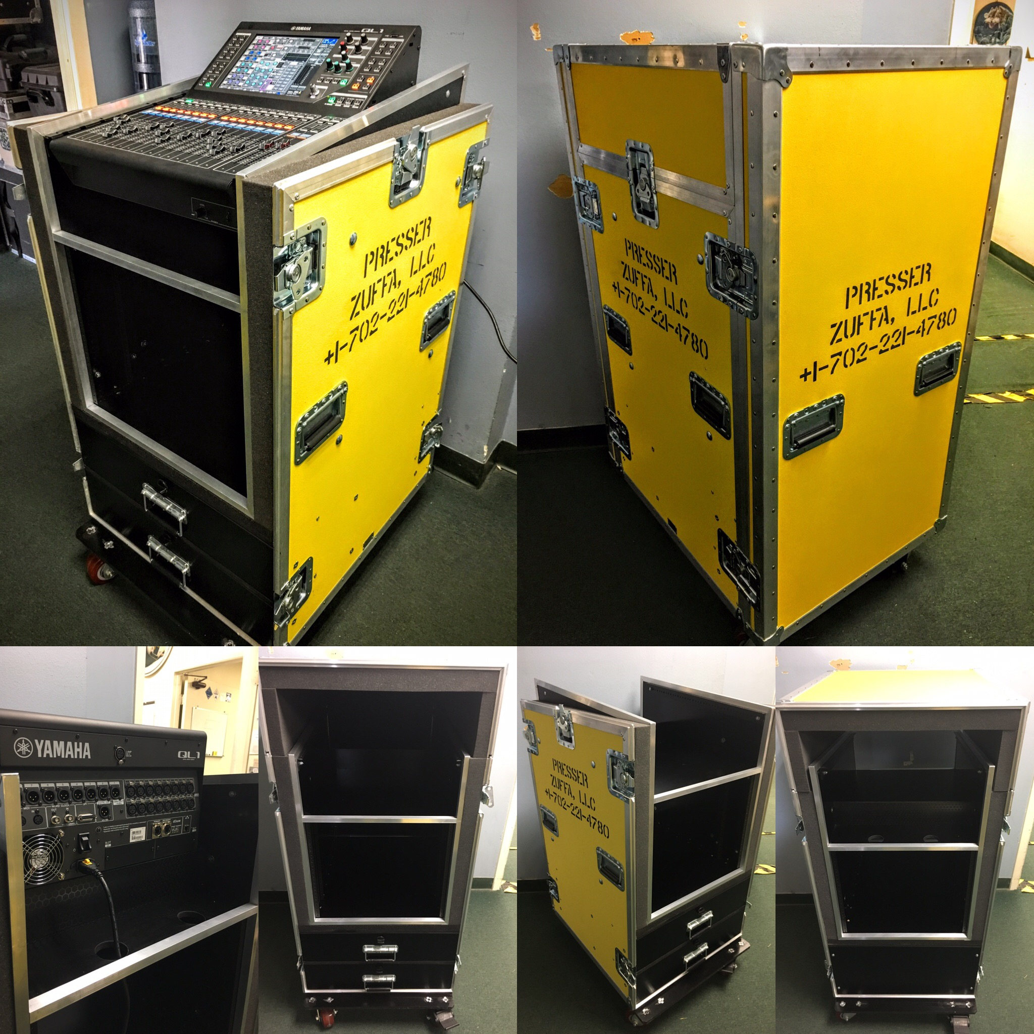 Producers Rack w/ Yamaha QL1 Mixer