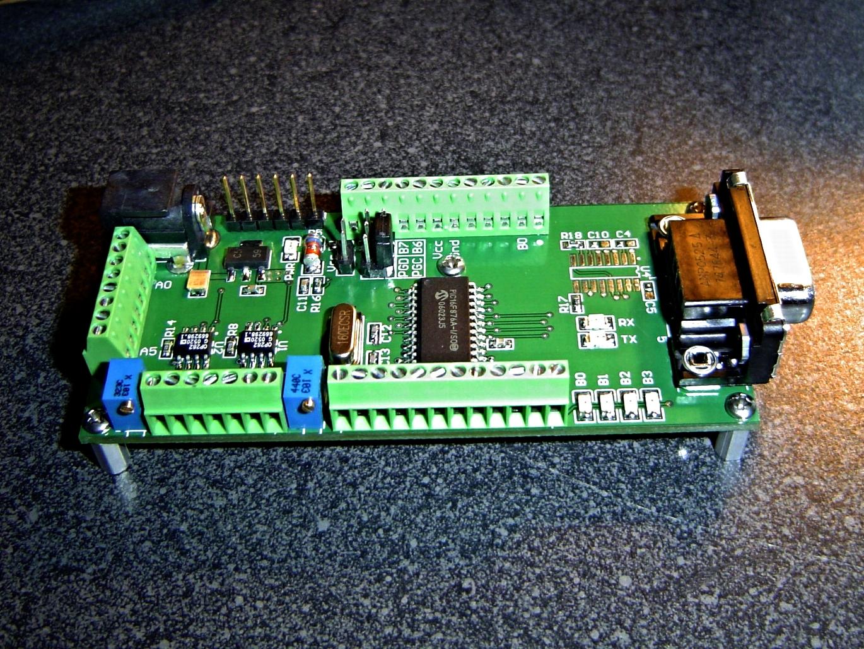 PIC 16F876A Development Board