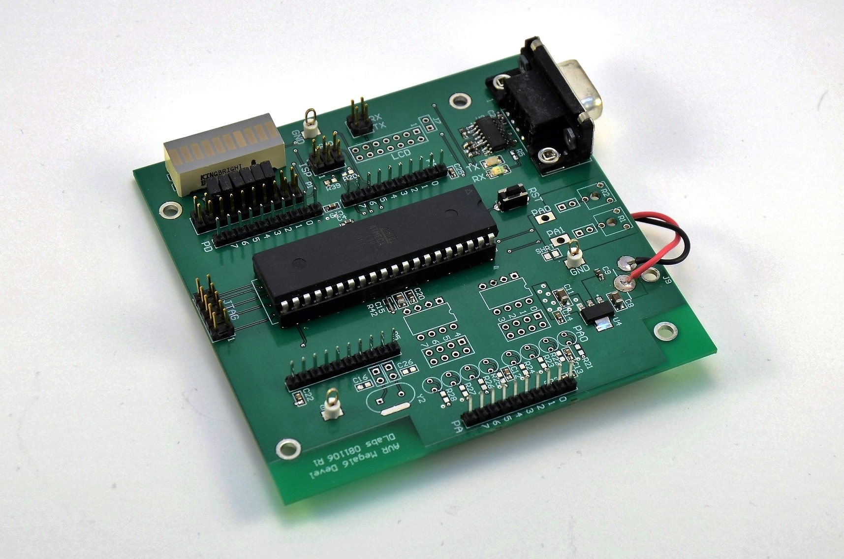 AVR ATMEGA16 Development Board