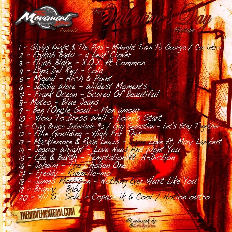 The Movement Fam Presents The Valentine's Day Mixtape Volume 5: Bitches Love Mixtapes