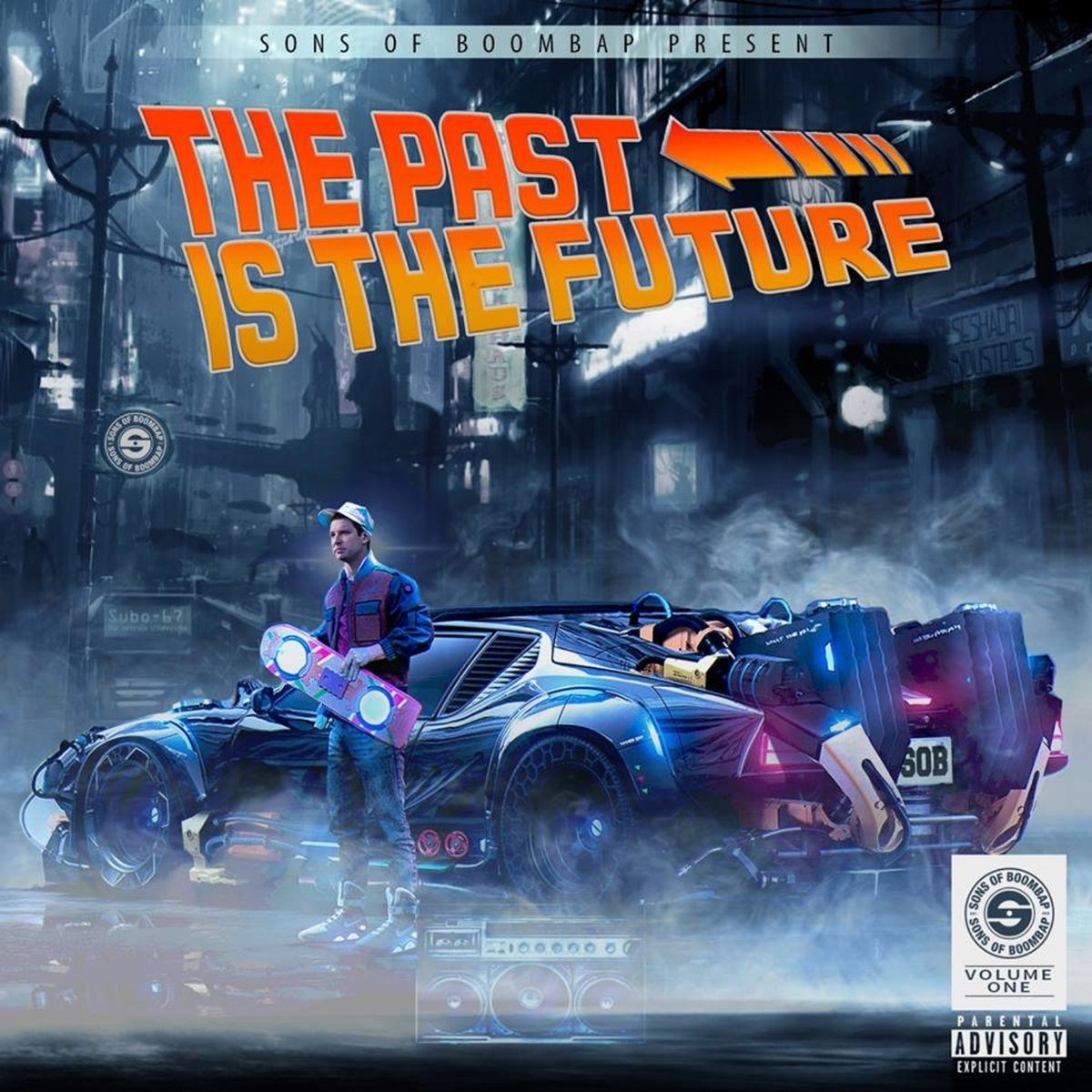 Sons of Boombap Present The Past Is The Future Volume 1.1