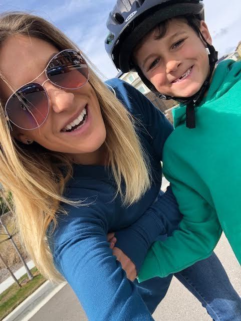 Ashley's son, Lucas Jacobs