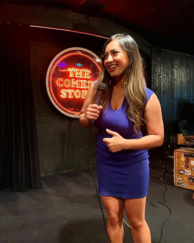 I had a hillary-ous time at the @comedystorelajolla. Thank you to all my family and best friends who came out to the show and @dat_phan for having me perform for the first time. Love you all!! More shows to come! 😏🎤 #hillaryma #comedy #losangeles