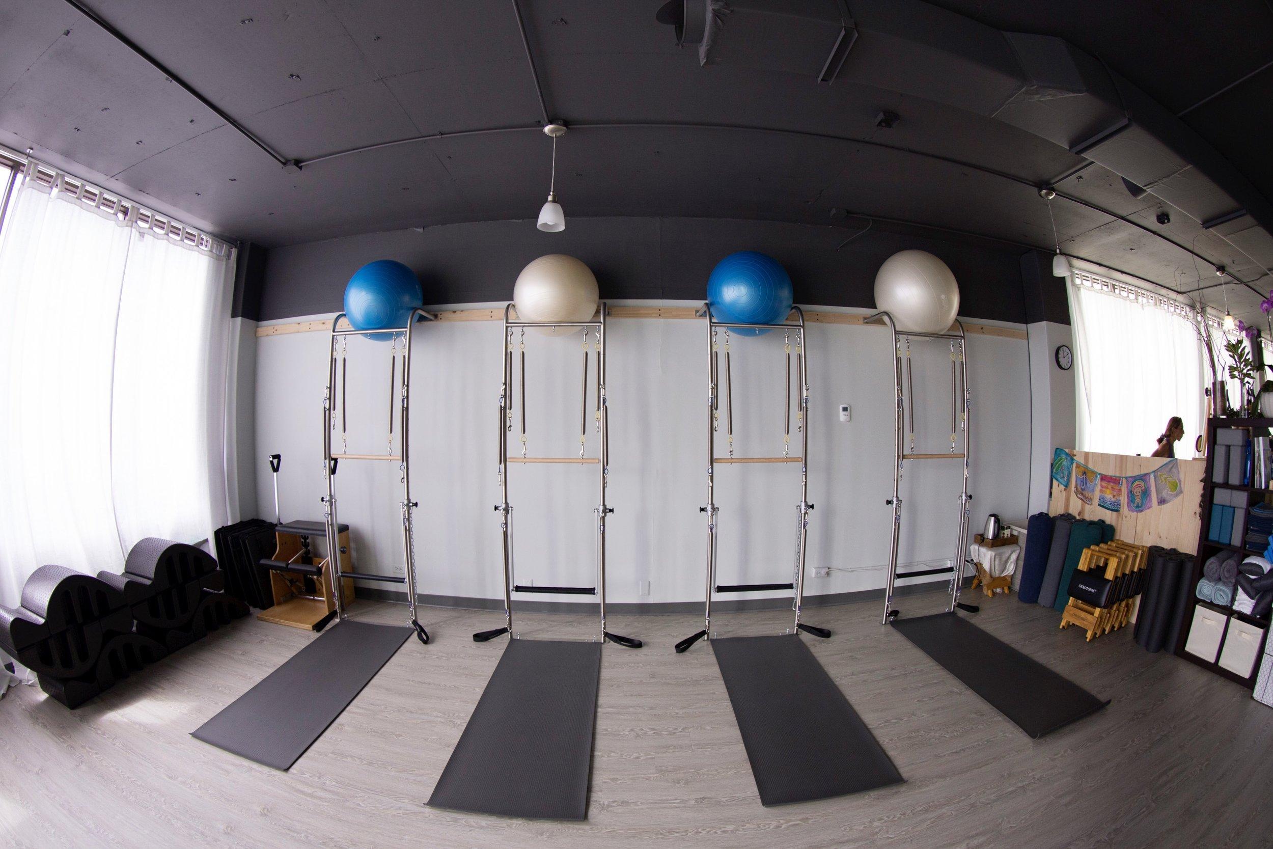 Pilates Wall Towers.