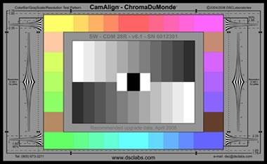 DSC Labs Color Chart