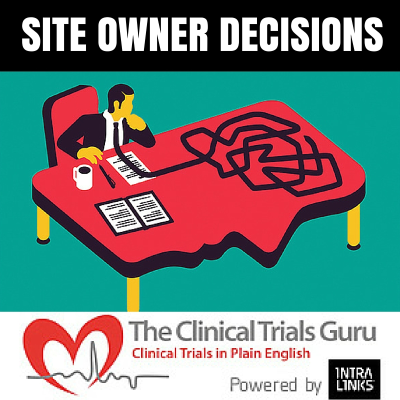 Site owners must decide wether or not a physician will be an adequate PI.