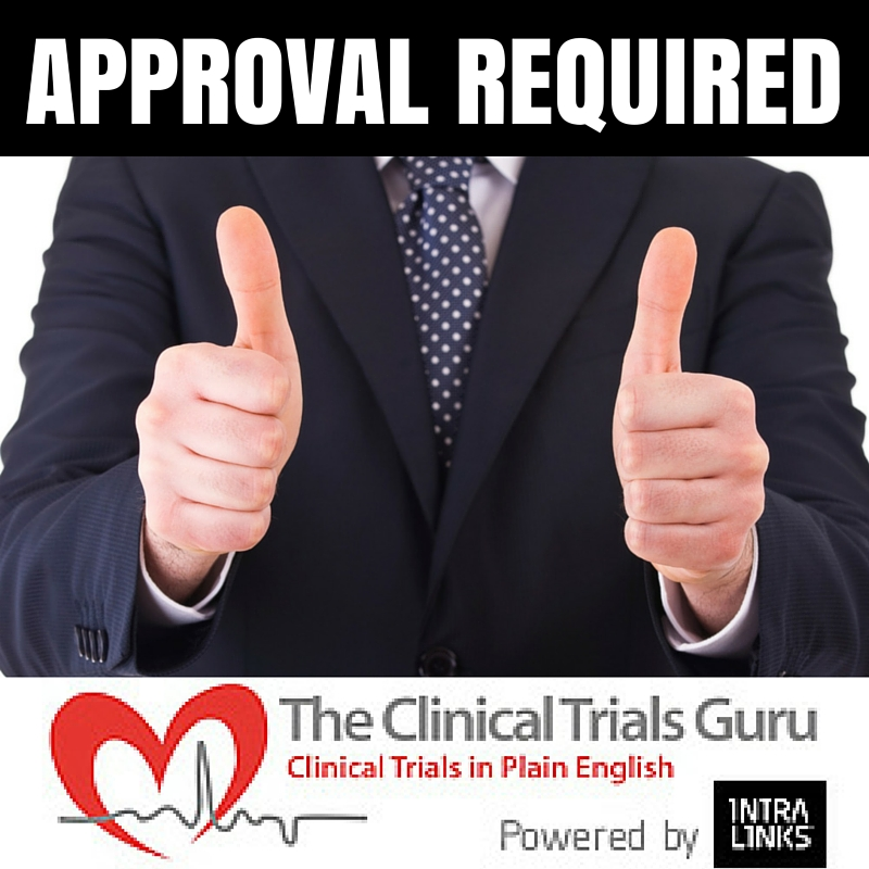 check with your local irb if you are not sure what type of content requires approval.