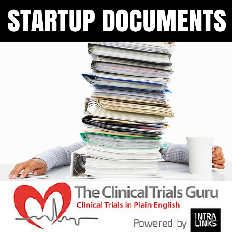 A few startup documents are needed before you can screen your first patient.