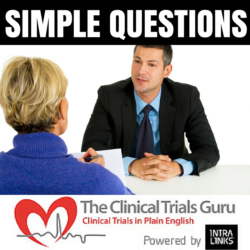 A few simple answers to a few simple questions can let a sponsor know how long a site has been involved in CLINICAL research.