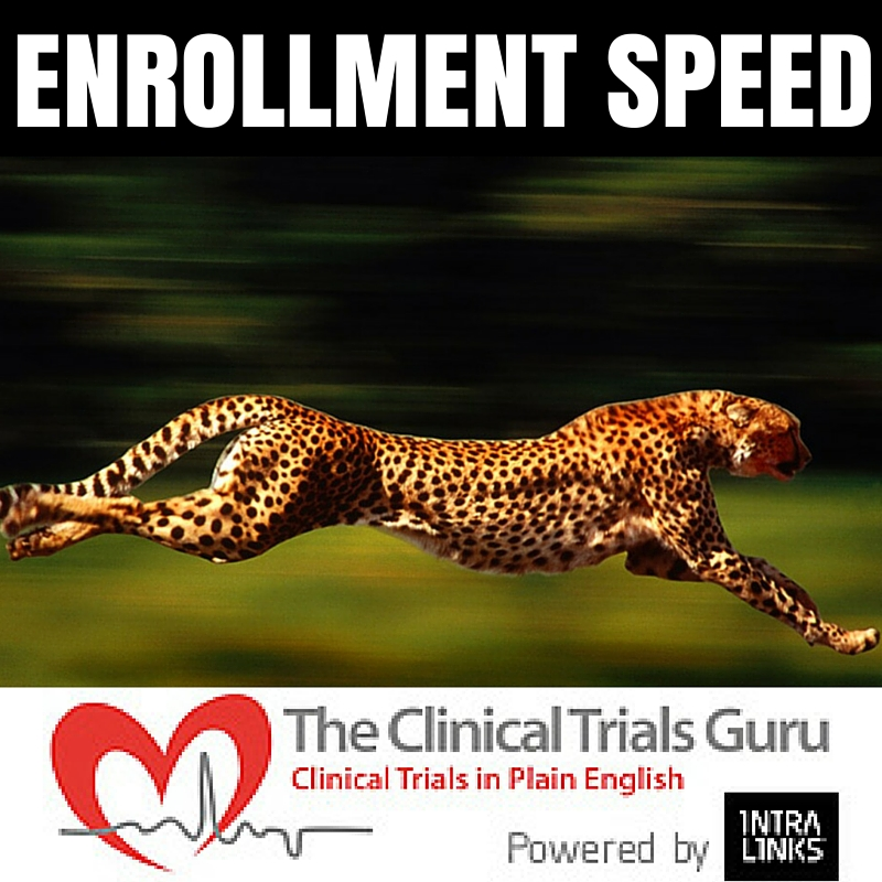 WHEN IT COMES TO ENROLLING, Speed means everything.
