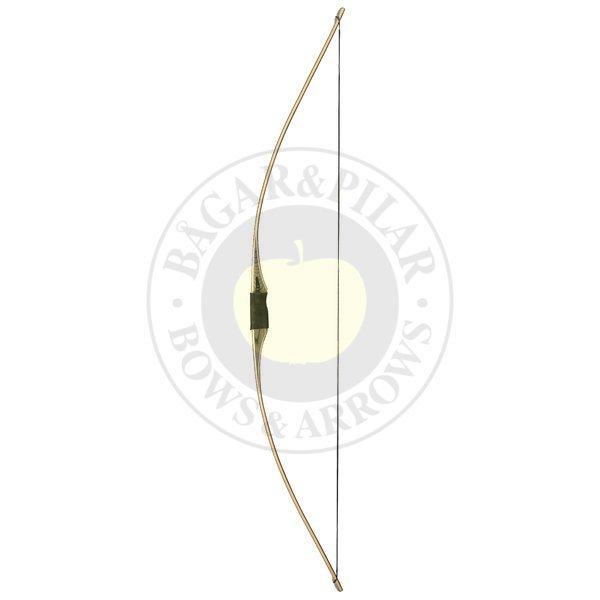 Flatbåge - Flatbågen eller american flatbow som den heter i World Archerys regelverk har utseendet av helt platta lemmar, och ganska liten stock.