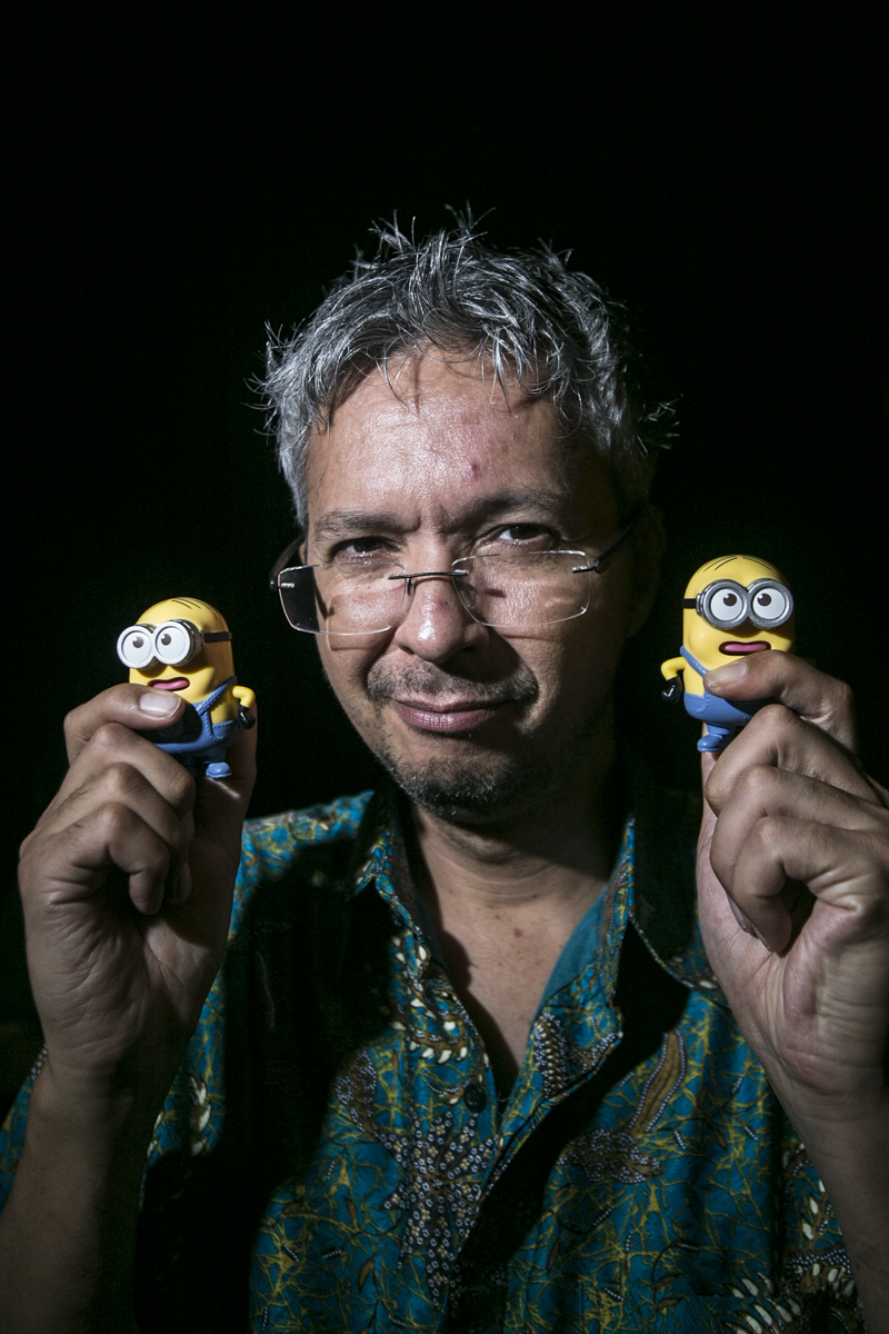 Pierre Coffin, creator and director of Minion characters. Bali, Indonesia 2017