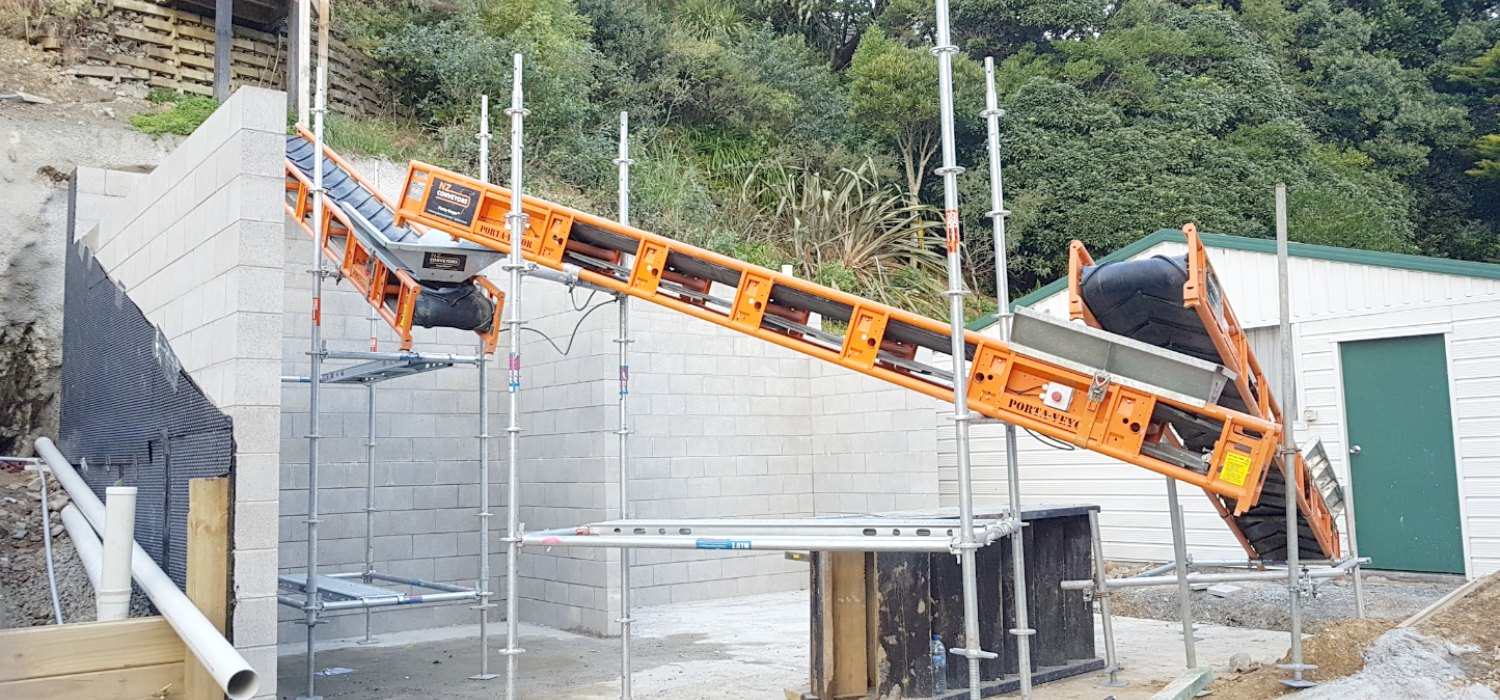 Porta-Veyor®     Building, construction and industrial site mobile conveyor belts available nationwide.  Site advice and setup available.  Contact us today for advice, info, bookings and pricing.   Phone: 0800 22 68 92