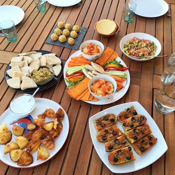 recetario vegano y saludable cena de verano