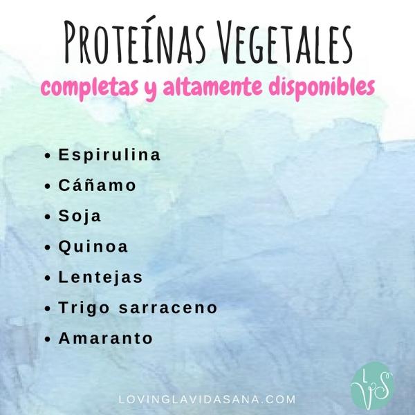 Proteínas vegetales completas y salud hormonal