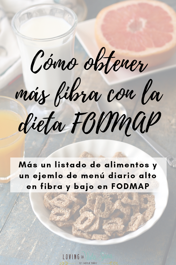 fibra dieta FODMAP, SII, sindrome intestino irritable