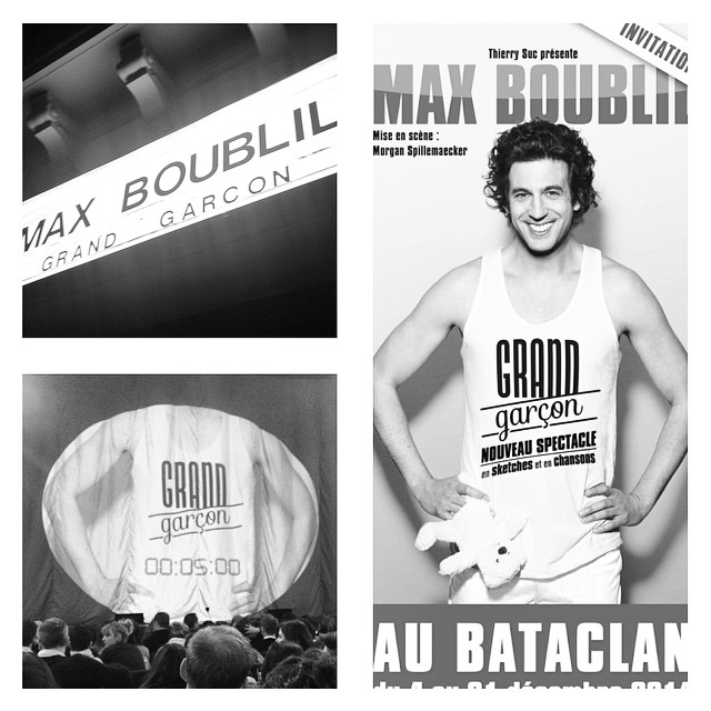 . @maxboubliloff #NouveauSpectacle #GrandGarcon #Bataclan