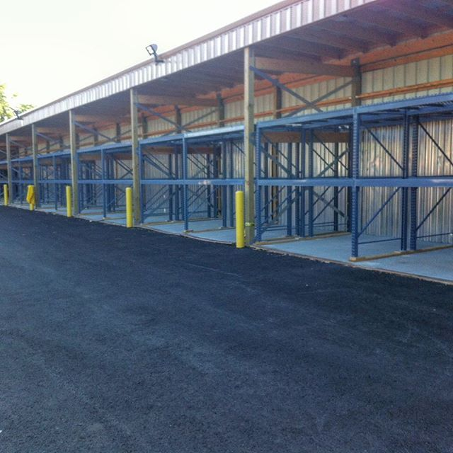 Recent rack installation completed by HS Industrial.  #storagesolutions #pallets #palletproject #racking