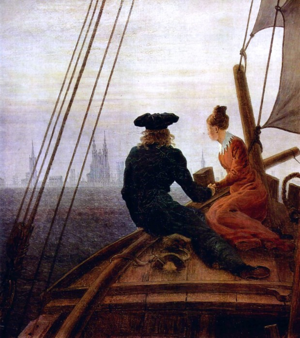 Caspar David Friedrich - On the Sailing Boat