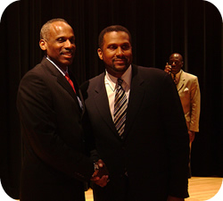 Carl and Tavis Smiley