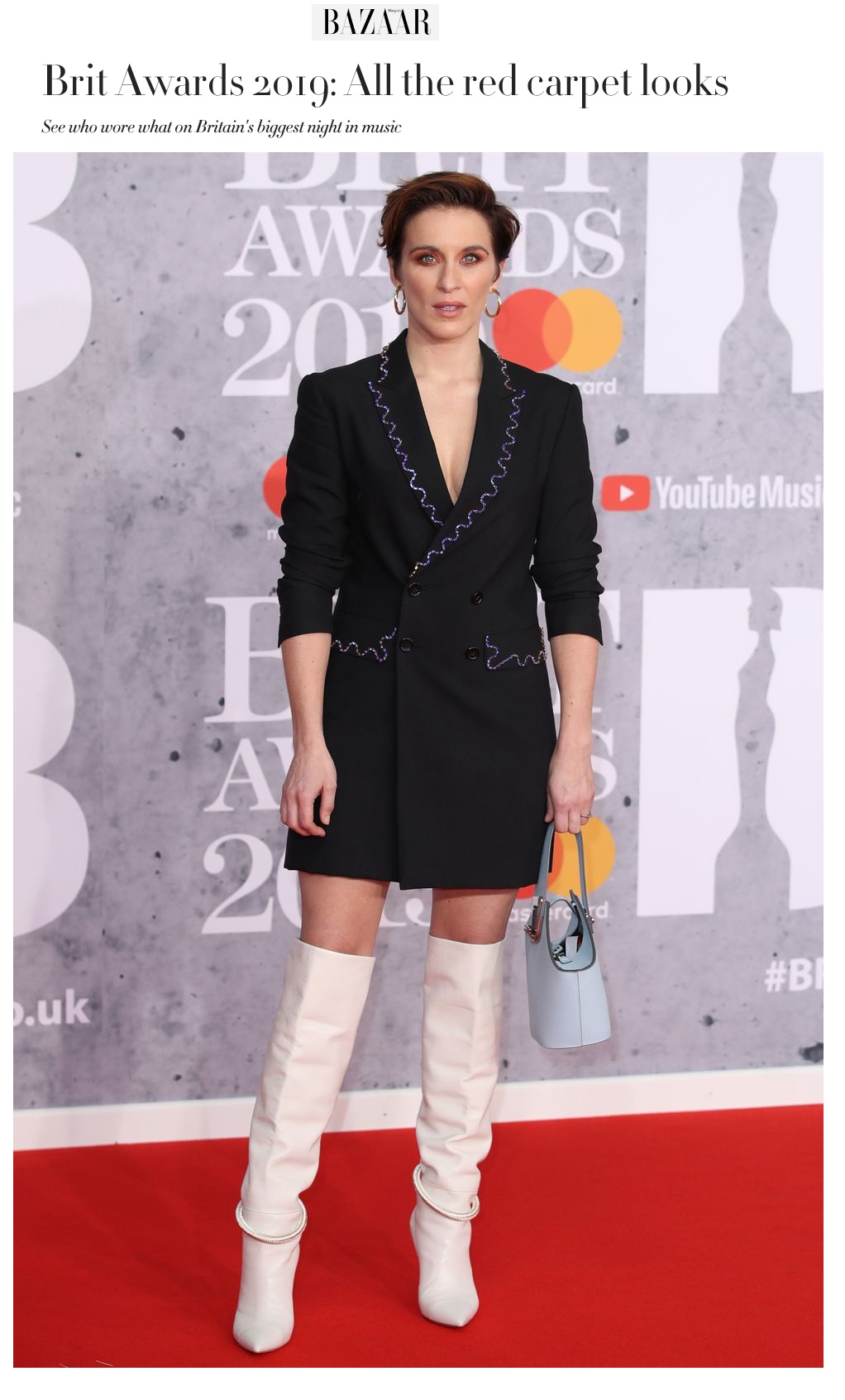 Vicky McClure Brit Awards Feb 2019