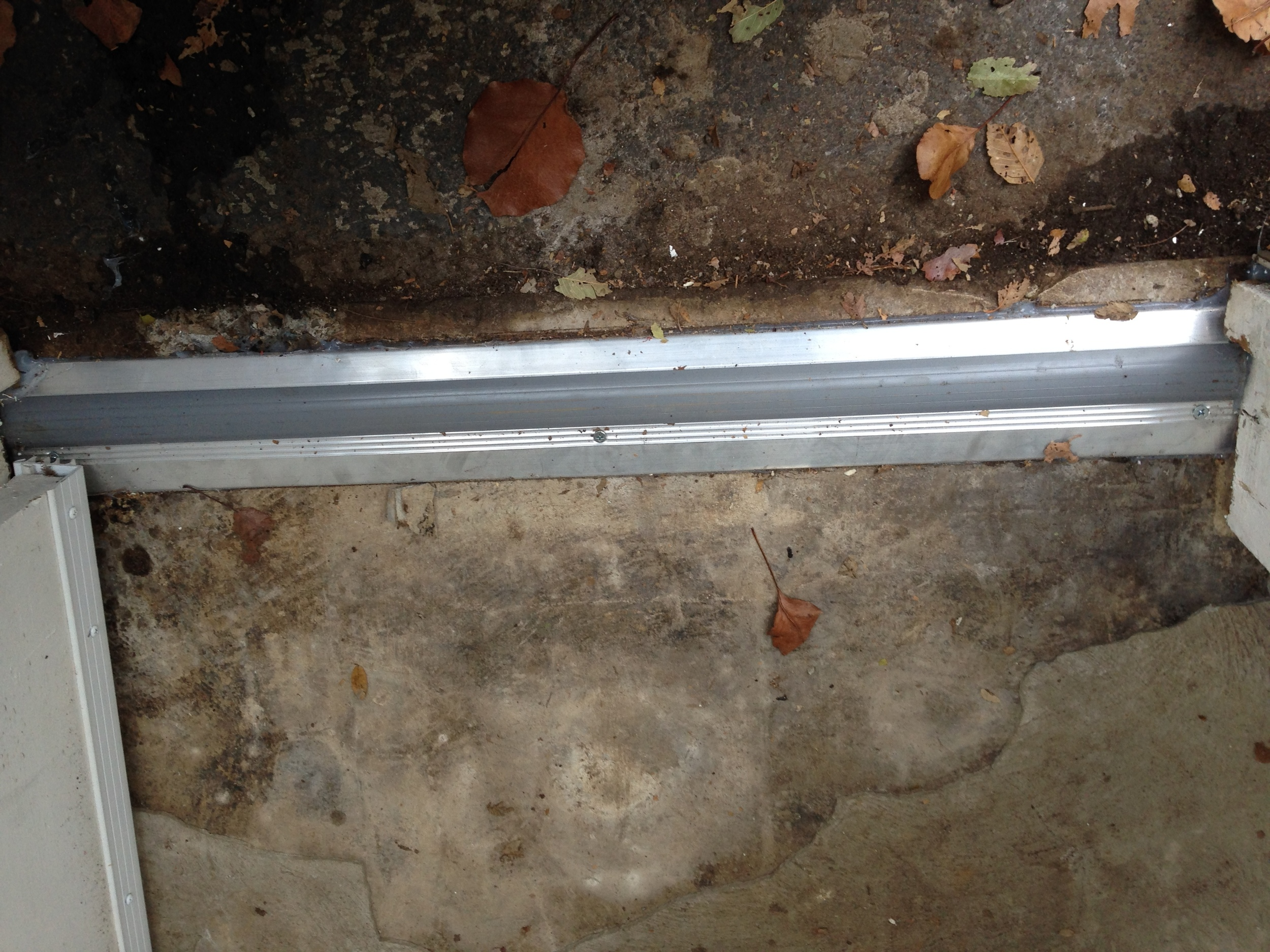Porch, Threshold Installed 2.JPG