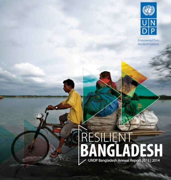 Start strong. Cover design for UNDP Bangladesh