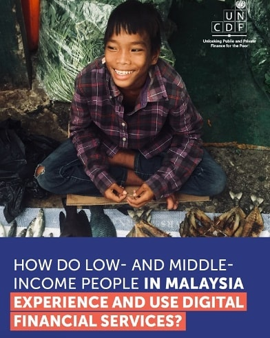 How aware are #lowandmiddleincome people of the #digitalfinance scene in Malaysia? How can you overcome the barriers to adoption of #fintech in the country?  Check out the @uncdf report on #financialinclusion and their i3 programme authored by @the_cinnamon_peeler on their website.  Visit www.uncdf.org to learn more.
