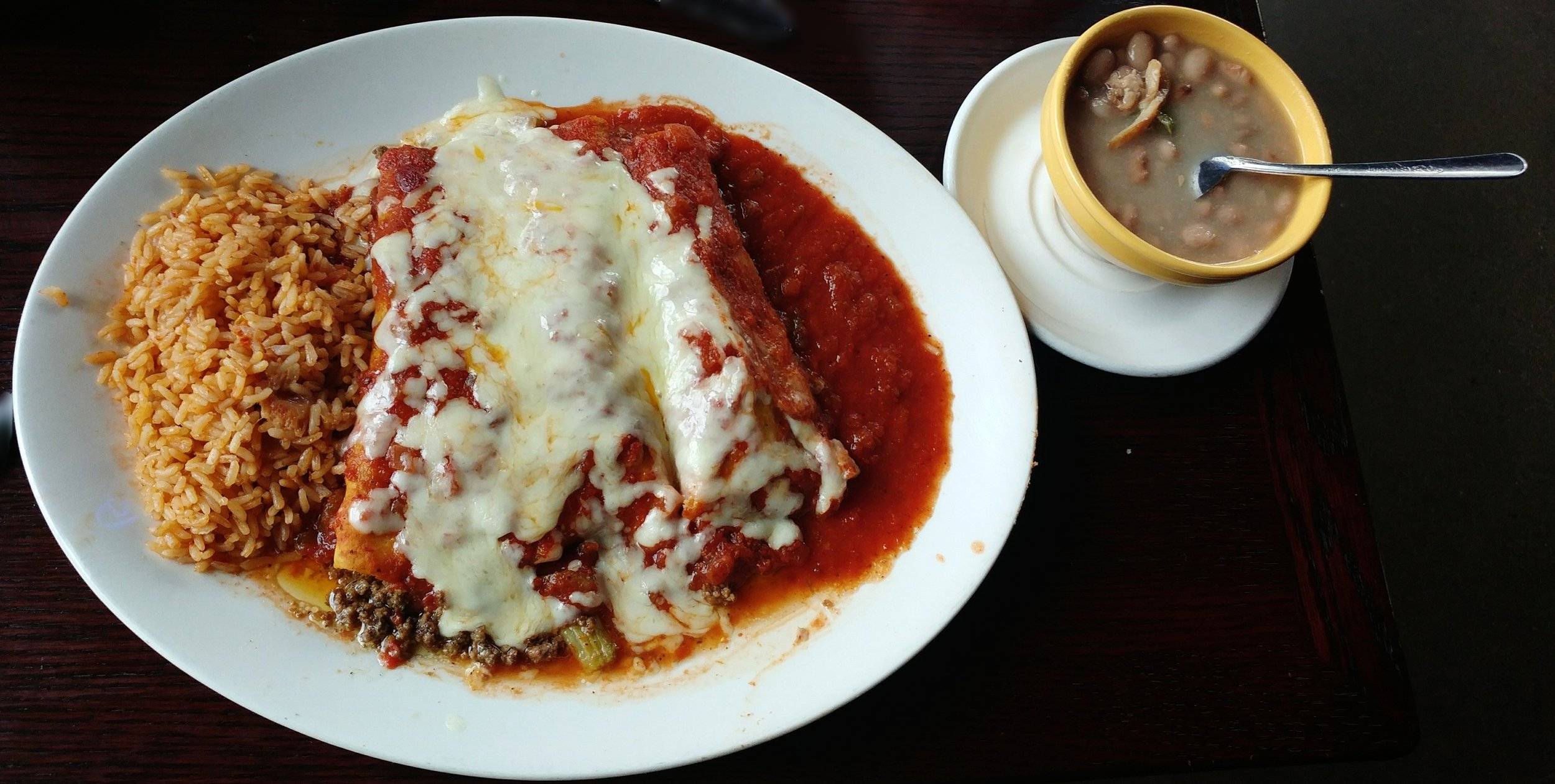 Beef - with Ranchero sauce